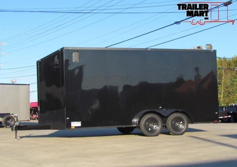 2020 Spartan 7X16 Commercial Grade 7' Tall 3 in 1 Enclosed Cargo Trailer