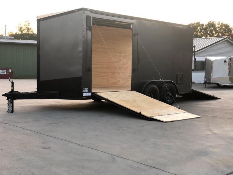 2020 Spartan 7x16x7 Enclosed Cargo Trailer - Ultimate Landscaper