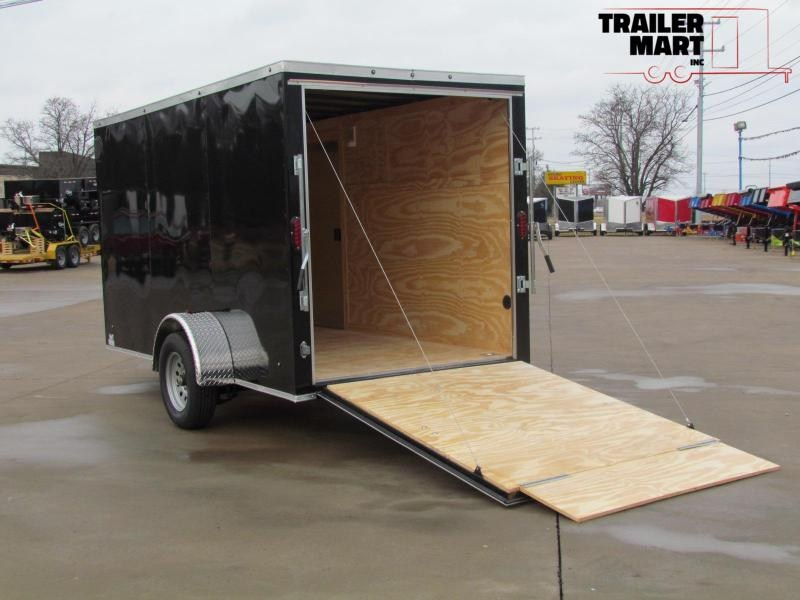 2020 Eagle 6X12 Enclosed Cargo Trailer Single Axle