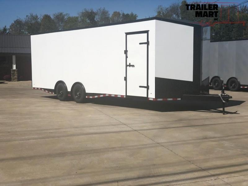 2020 Eagle Spread Axle Enclosed Car Trailer 7' Tall 9990 GVWR
