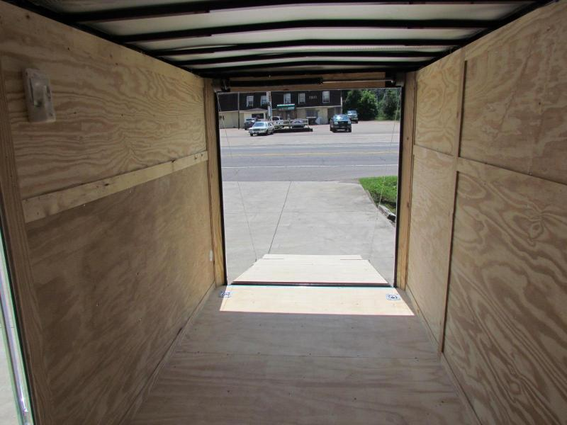 2020 Eagle Trailer 6x12SA Enclosed Cargo Trailer