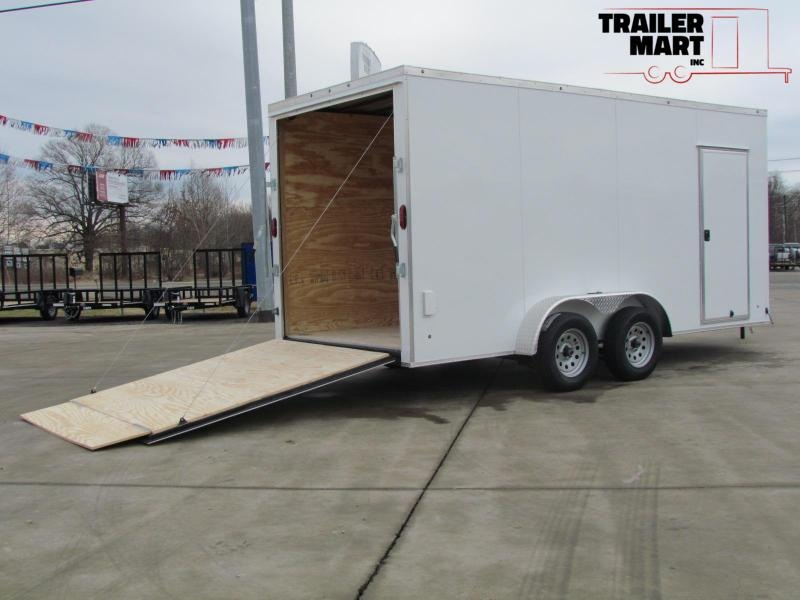 2020 Eagle 7X16X7 Enclosed Cargo Trailer