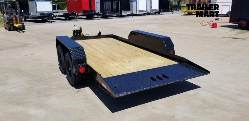 2020 Cam Superline 6X14 Tilt Deck Flatbed Trailer - Single Axle - 5 Ton
