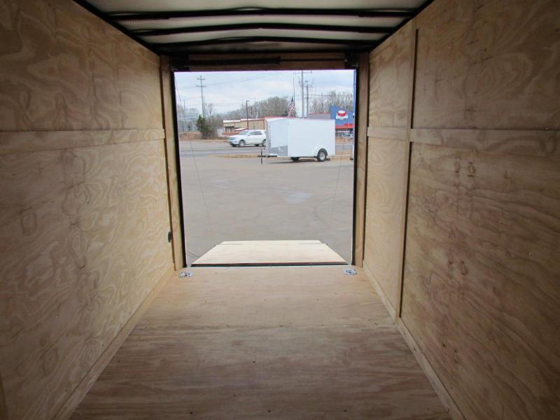 2020 Eagle Trailer 6x12SA Enclosed Cargo Trailer