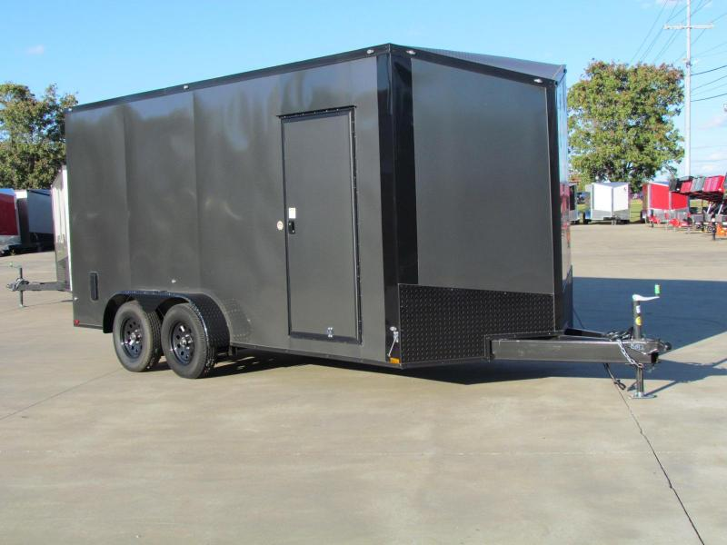 2020 Spartan 7' WIDE x 16' LONG x 7' TALL Commercial Grade 3 in 1 Enclosed Cargo Trailer
