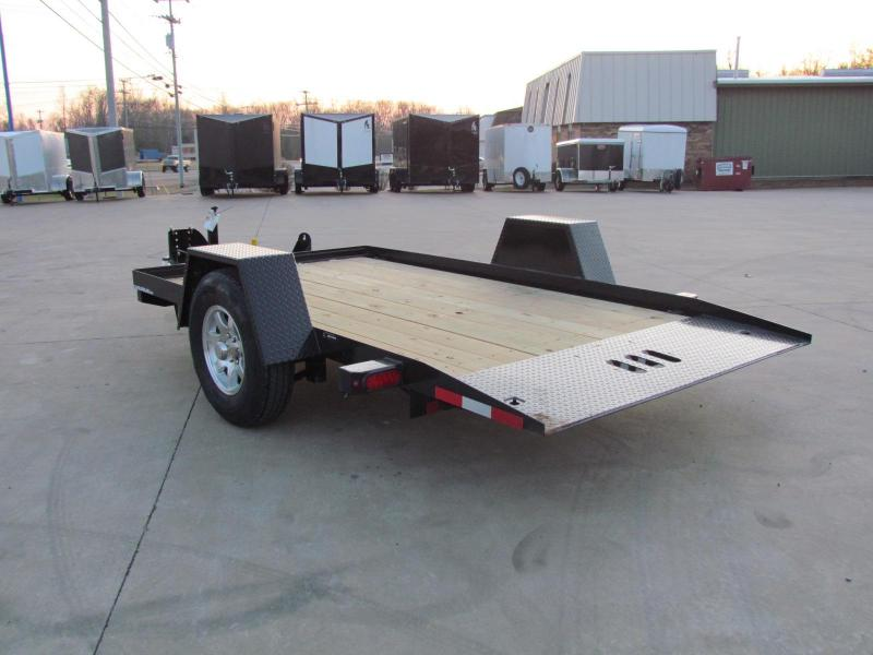 2020 Cam Superline 6X12 Tilt Deck Flatbed Trailer - Single Axle - 3 Ton