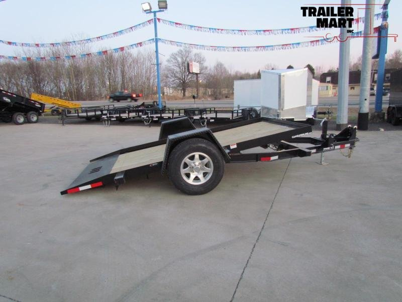 2020 Cam Superline 6X12 Tilt Deck Flatbed Trailer - Single Axle - 3 Ton