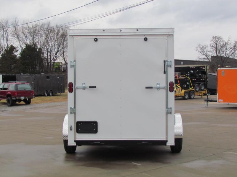 2020 Eagle 6X12 Enclosed Cargo Trailer Single Axle
