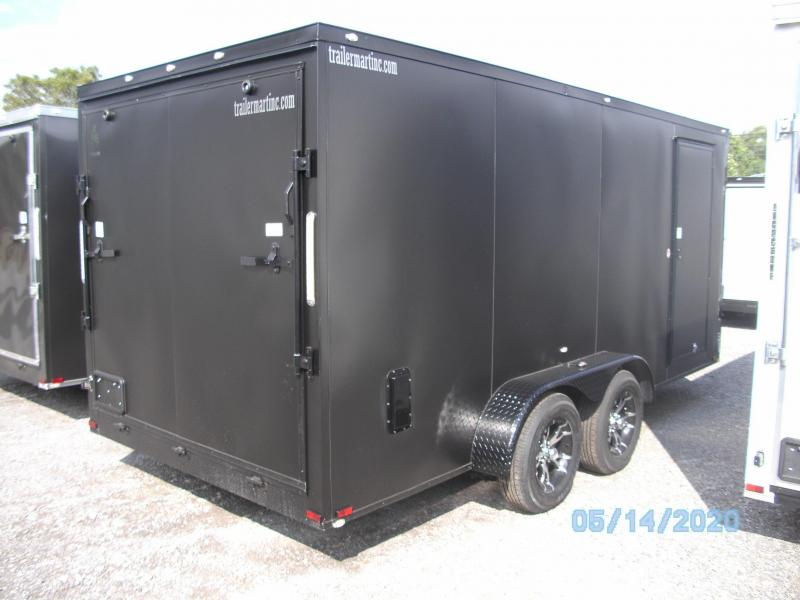 2020 Spartan 7X16 Commercial Grade  3 in 1 Enclosed Cargo Trailer