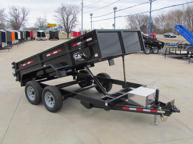 2020 Cam Superline ADV 6x12 Dump Trailer