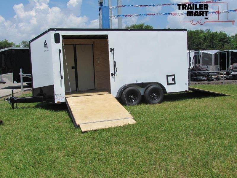 2020 Spartan 7x16TA3 Landscaping Plus Trailer Enclosed Cargo Trailer