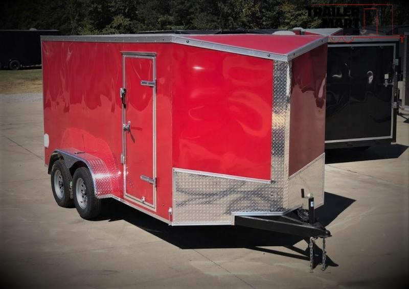 2020 Eagle 7X14 Contractor Special Enclosed Cargo Trailer