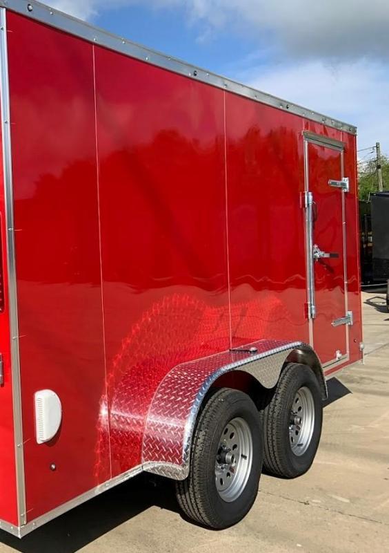 2020 Eagle 7X14 Contractor Special Enclosed Cargo Trailer