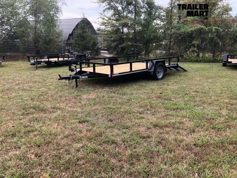 2020 Cam Superline 7X12 Open Utility Trailer Single Axle HD Frame Utility Trailer