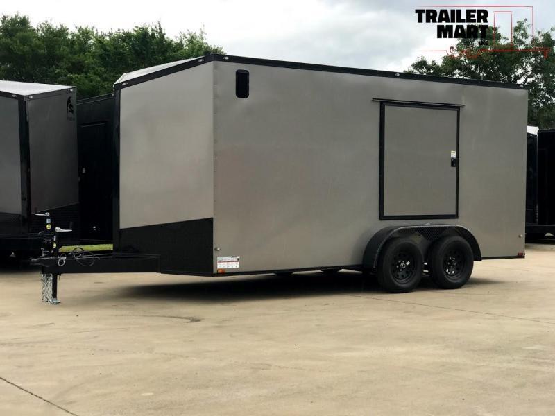 2020 Spartan 7X16 Commercial Grade 3 in 1 Enclosed Cargo Trailer