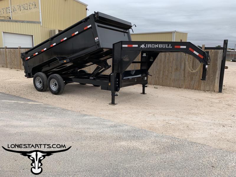 2019 Iron Bull Dump Trailer