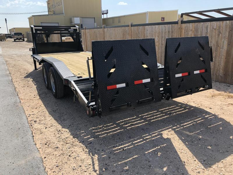 2020 Iron Bull Gooseneck Equipment Trailer