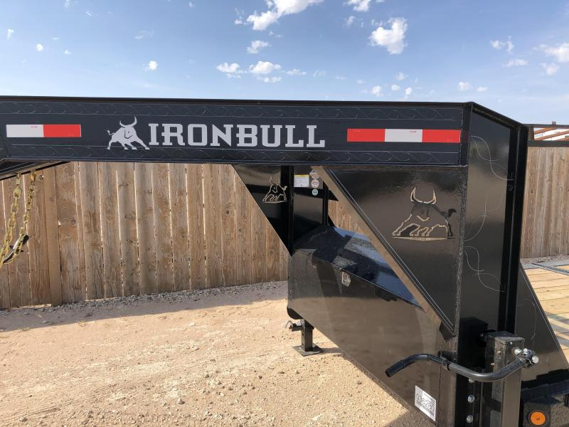 2020 Iron Bull Gooseneck Tiltdeck Trailer