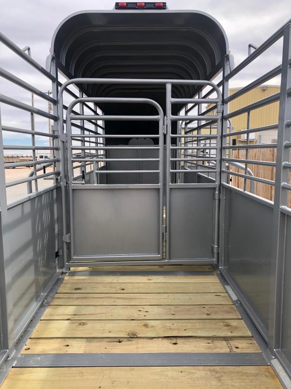 2020 Delco Livestock Trailer