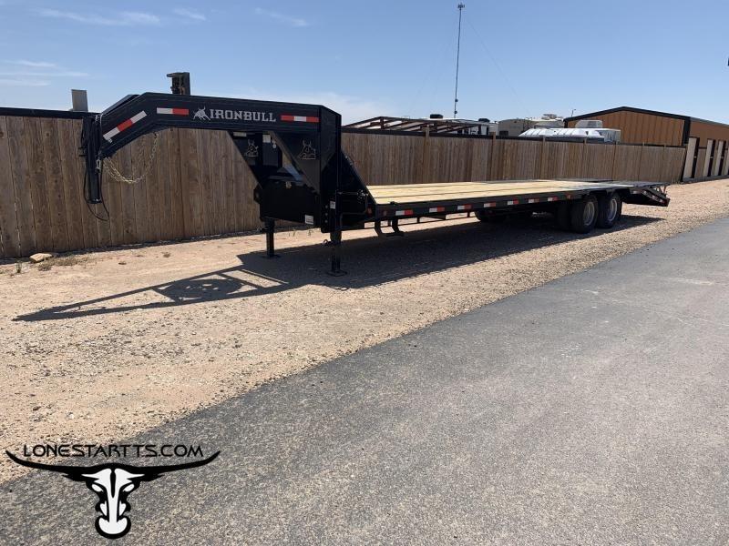 2020 Iron Bull Gooseneck Flatbed Trailer
