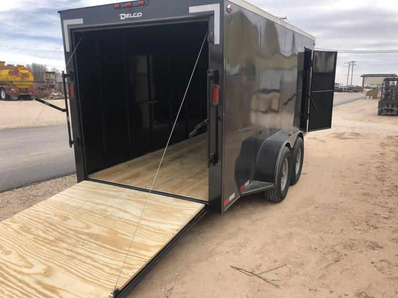 2020 Delco Enclosed Cargo Trailer