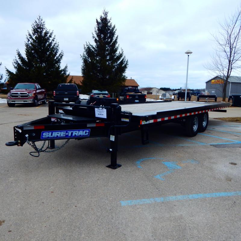 2018 Sure-Trac 8.5x23 15k Deckover Power Tilt Equipment Trailer