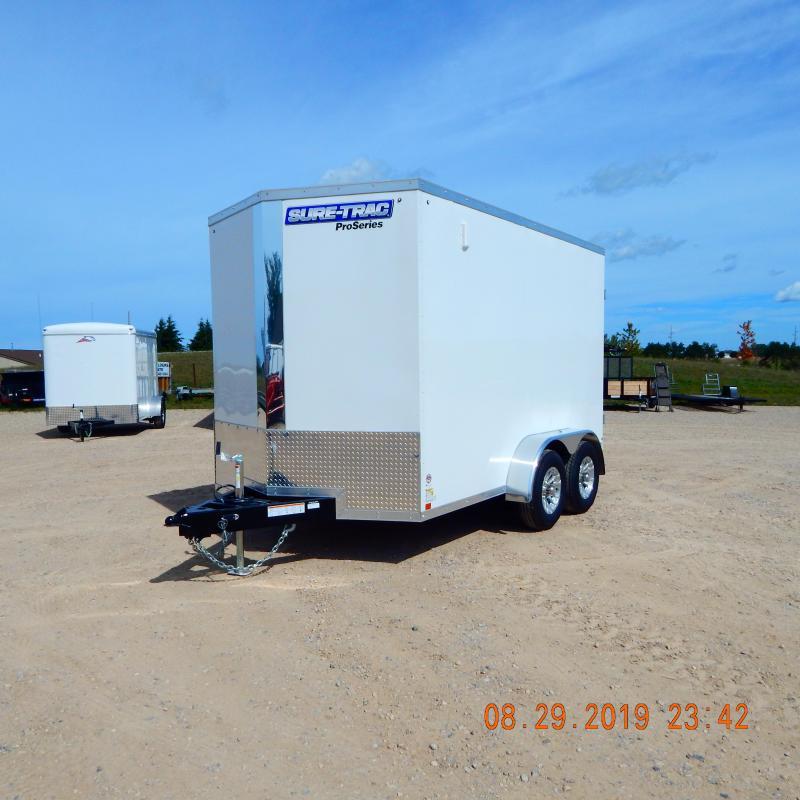 2020 Sure-Trac 7 x 12 Pro Series Wedge Cargo TA 10K
