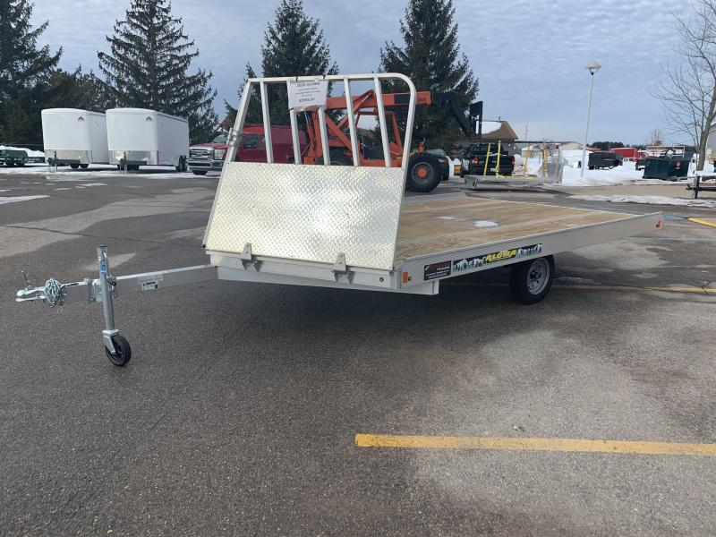 2020 Aluma 8.5x12 Drive On/Off Snowmobile Trailer