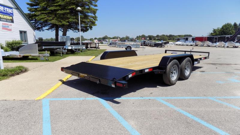 2020 Sure-Trac 7 X 16 Wood Deck Car Hauler  7k