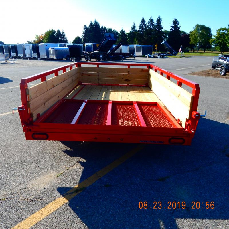 2020 Sure-Trac 6 X 10 Tube Top Three Board  3K Idler