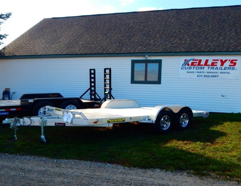2019 Aluma 7X16 7K Car / Racing Trailer