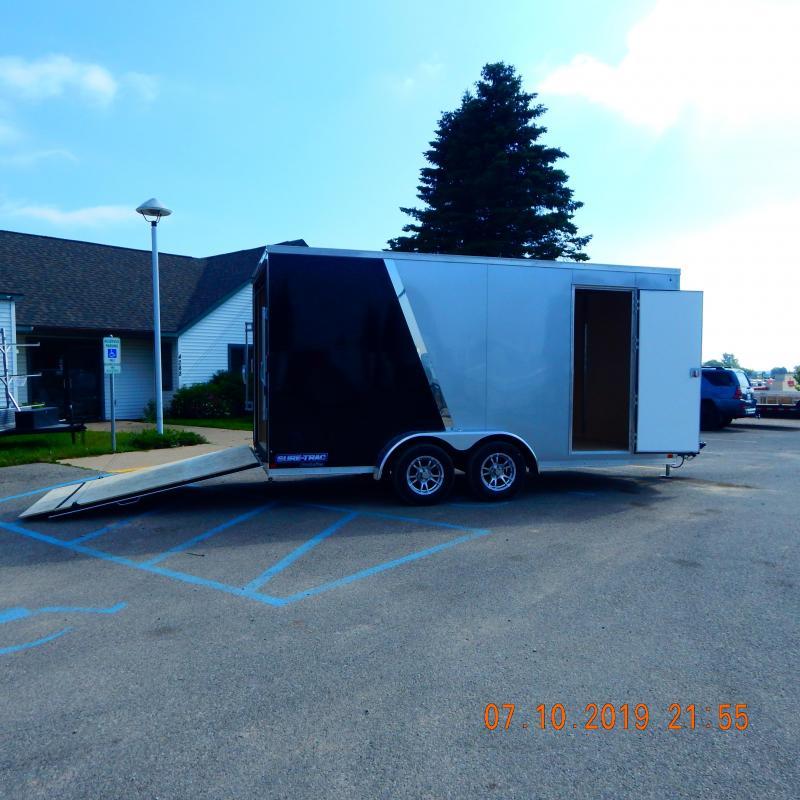 2019 Sure-Trac 7x16 Pro-Series Wedge 7k Enclosed Cargo Trailer
