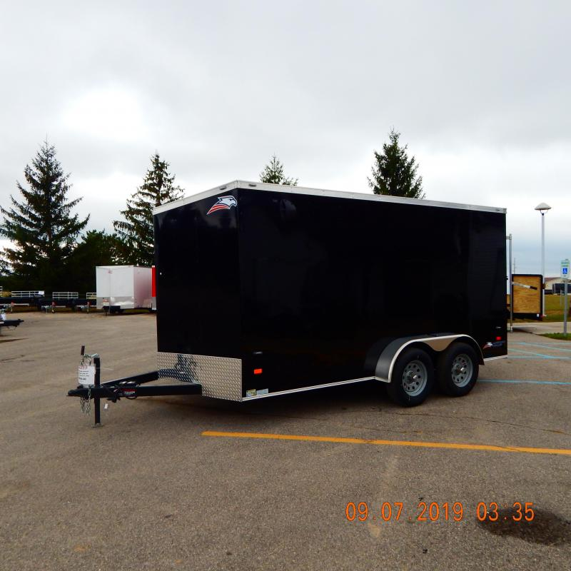 2019 American Hauler Industries 7x14 Arrow 7k Enclosed Cargo Trailer