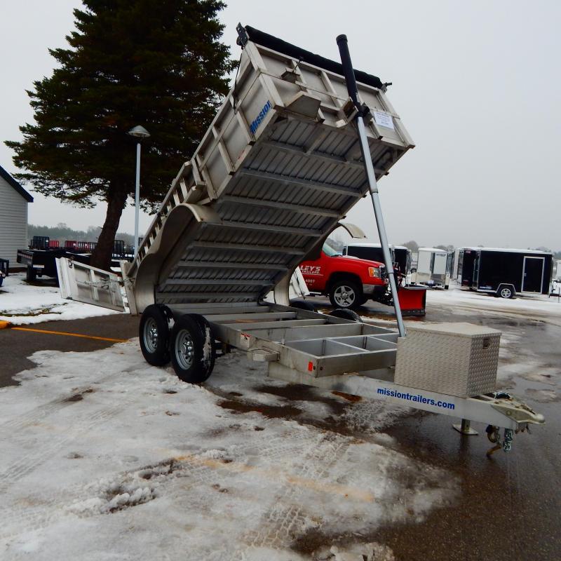 2020 Mission 6x12 10k Telescopic Dump Trailer