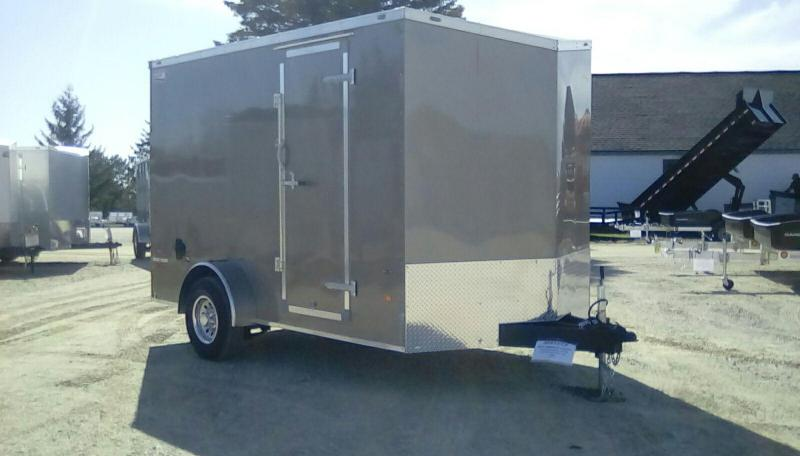 2019 American Hauler Industries 7x12 NIGHT HAWK 5K Enclosed Cargo Trailer