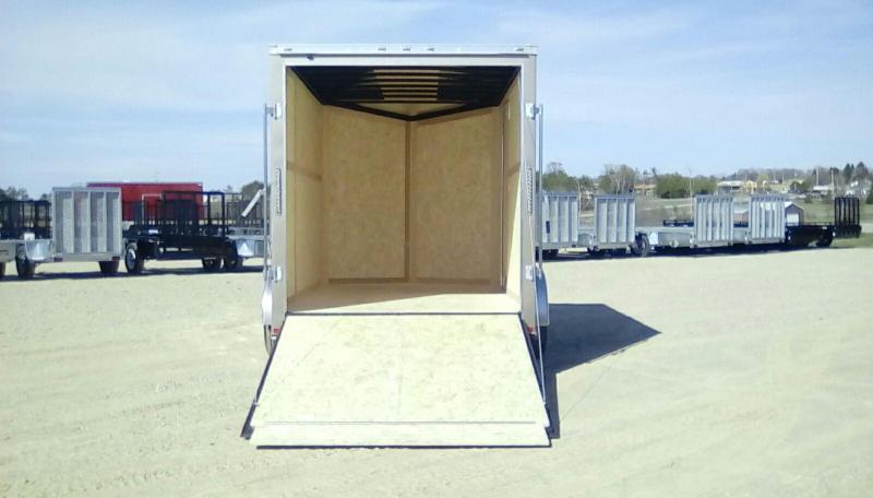2019 American Hauler Industries 7x12 NIGHT HAWK 5K Enclosed Cargo Trailer