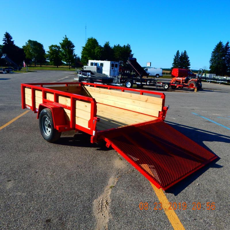 2020 Sure-Trac 5x10 3k 3 Board Utility Trailer