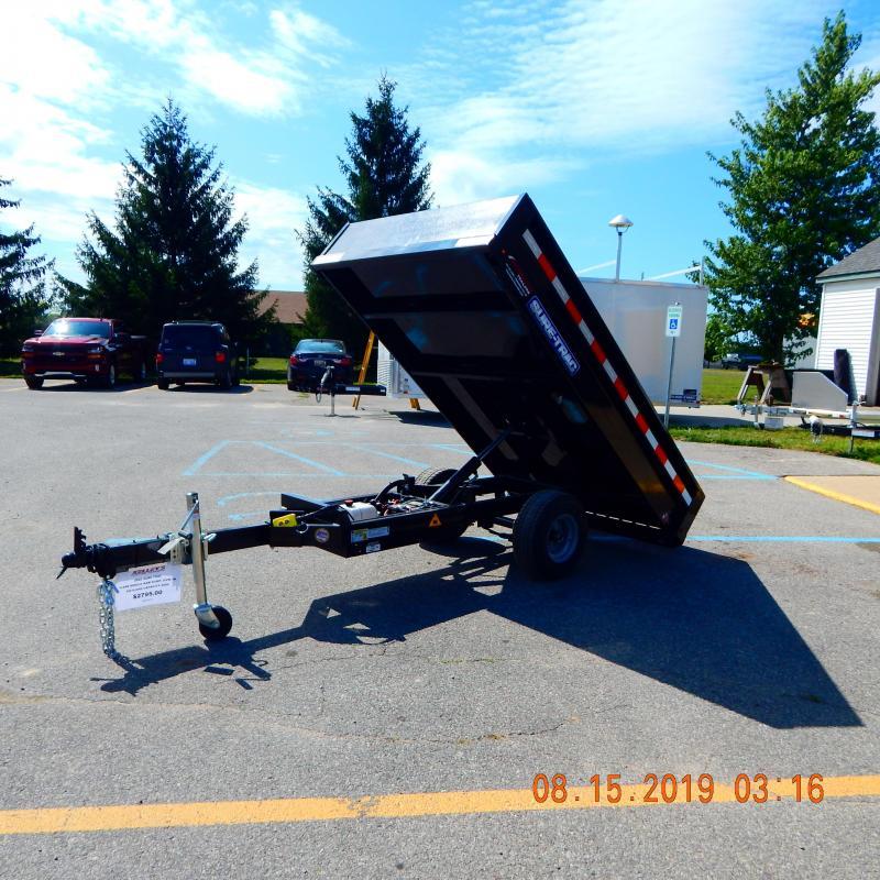 2020 Sure-Trac 4.5x8 3k Single Ram Dump Dump Trailer