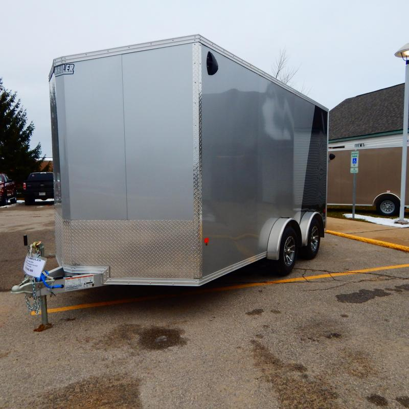 2020 EZ Hauler 7.5x14 7k Enclosed Cargo Trailer