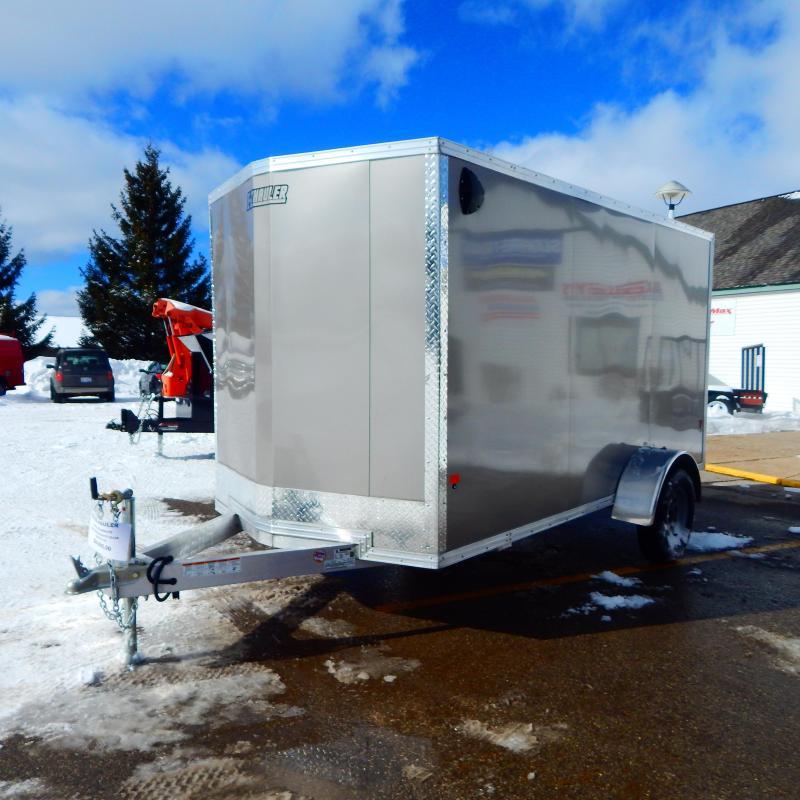 2020 Mission 6x12 3k Ez-Hauler Duralite Enclosed Cargo Trailer