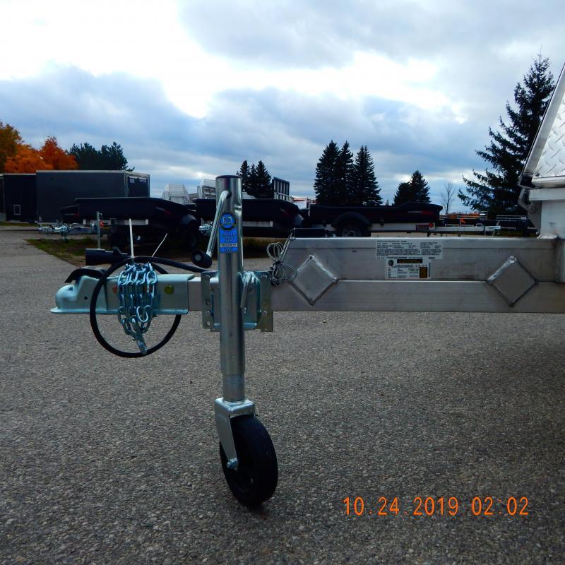 2020 Aluma 8.5x12 2.2k Snowmobile Trailer
