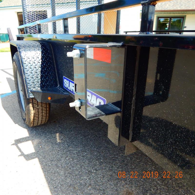 2020 Sure-Trac 6x10 Steel High Side 3k Utility Trailer