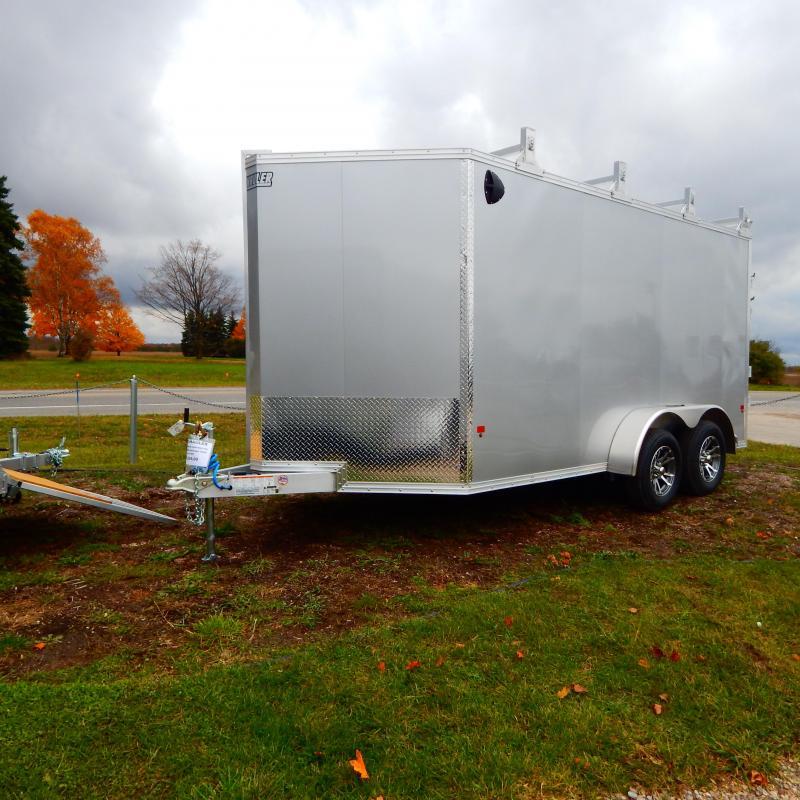 2020 EZ Hauler 7x14 7k Ultimate Contractor Enclosed Cargo Trailer