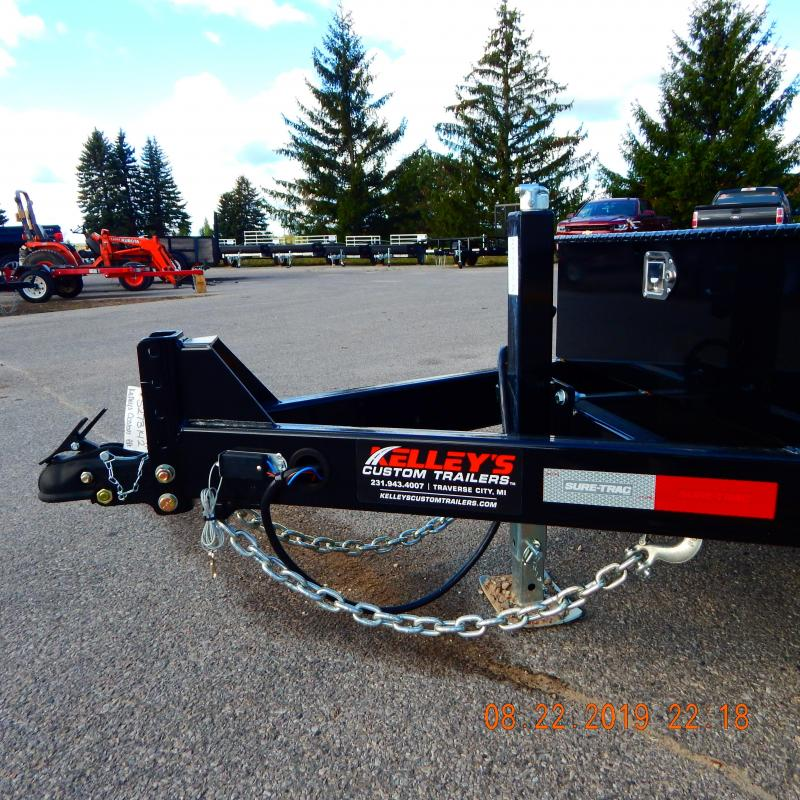 2020 Sure-Trac 78 IN X 12 + 4 Tilt Bed Equipment  7.8K