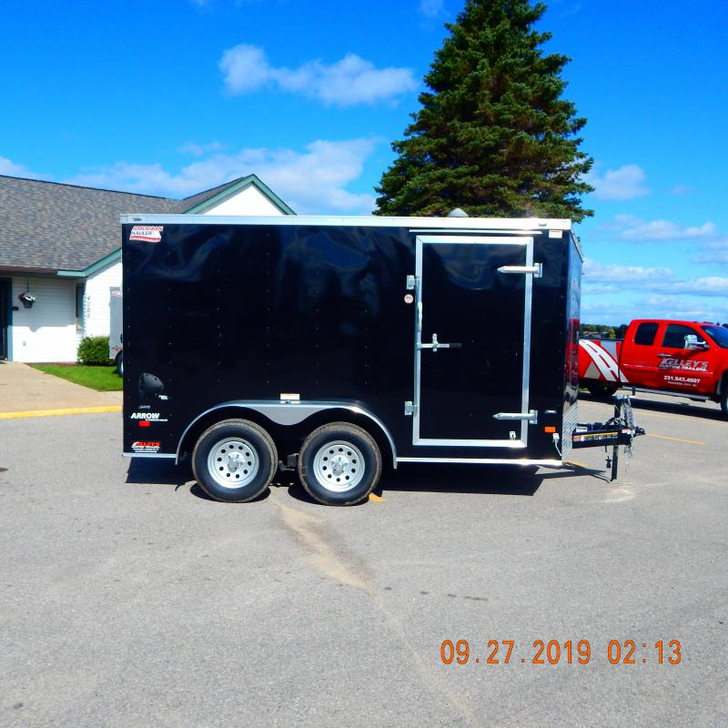 2019 American Hauler Industries 7x12 Arrow 7k Enclosed Cargo Trailer