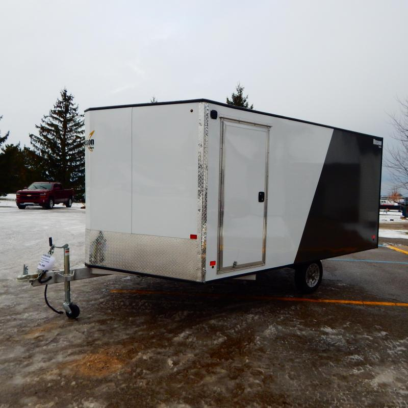 2020 Mission 8.5x12 3k Hard Top Crossover 2.0 Snowmobile Trailer