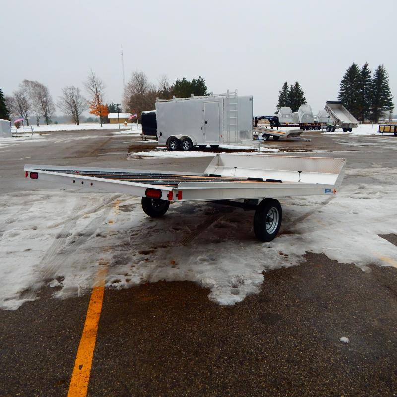 2020 Mission 8.5x12 3k Snowmobile Trailer