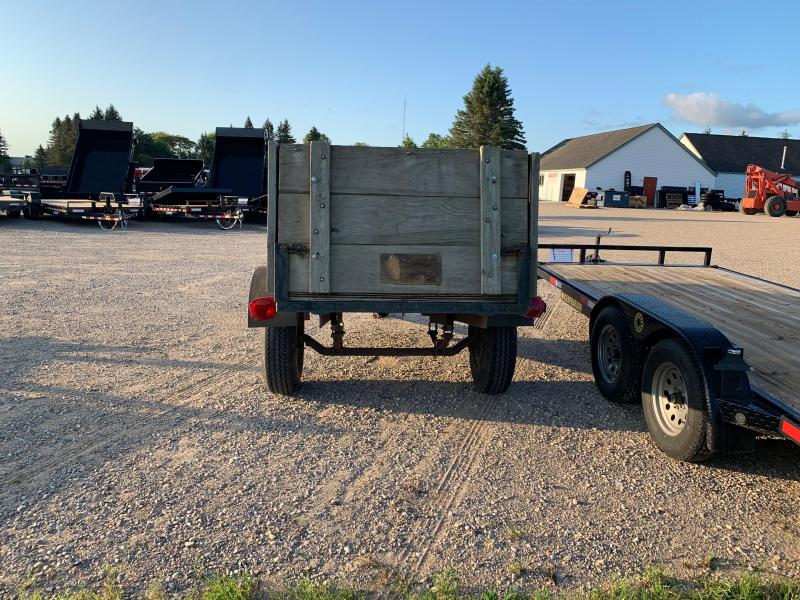 2001 Other 4x12 High Side Assembled Utility Trailer