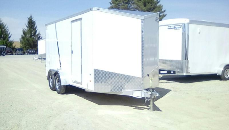 2019 American Hauler Industries 7X16 7K Night Hawk Enclosed Cargo Trailer