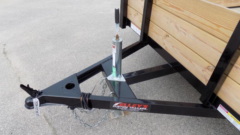 2020 Sure-Trac 7 X 12 Tube Top Three Board  5K Brake